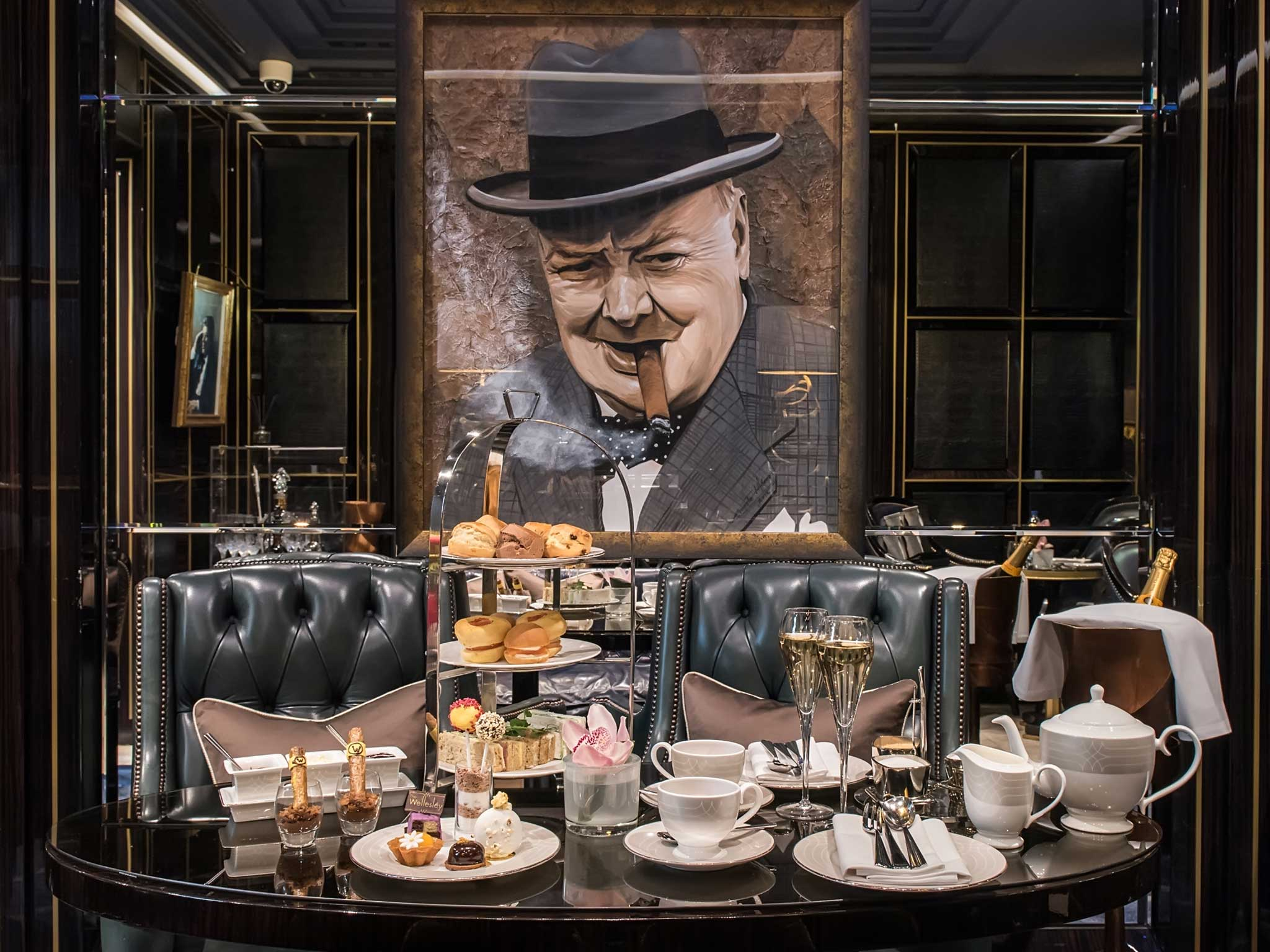 Churchill Afternoon Tea at The Wellesley