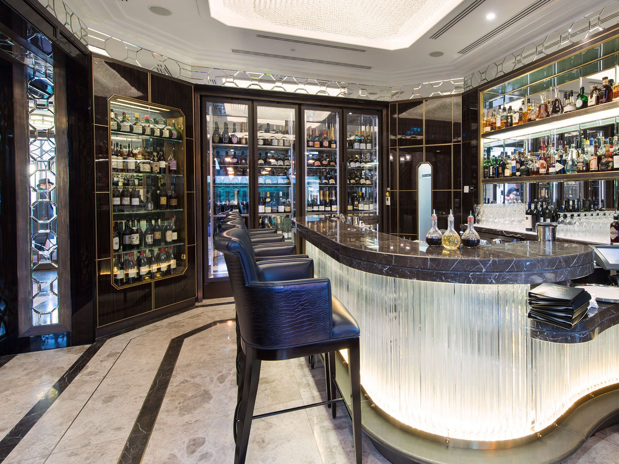 Crystal Bar at The Wellesley Knightsbridge